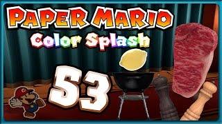 PAPER MARIO: COLOR SPLASH Part 53: Mamma-Mia! Sternekoch Mario kredenzt ein Abendmahl