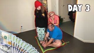 Last To Leave Square Wins $5,000! (Family Challenge)