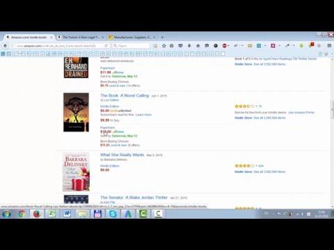 Kindle Amazon - продажа книг на Амазон. Узнайте как продавать печатные и Kindle книги