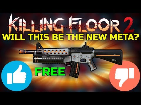 Killing Floor 2 | PLAYING WITH THE NEW UPCOMING WEAPON! - The New Firebug Meta?