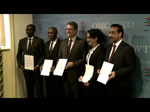 WTO Trade Facilitation Agreement entry into force