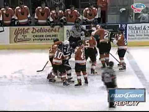AHL - Adirondack @ Norfolk Brawl - Dec. 2, 2011