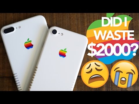 Thumbnail: $2000 Custom iPhone vs $20 Skin! Did I Waste My Money?