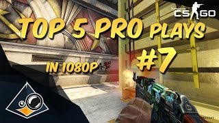 CS:GO - Top 5 Pro Plays #7