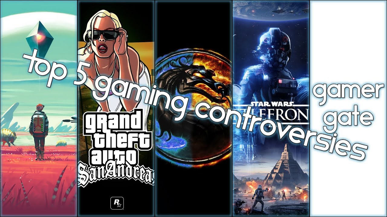 Top 5 Gaming Controversies
