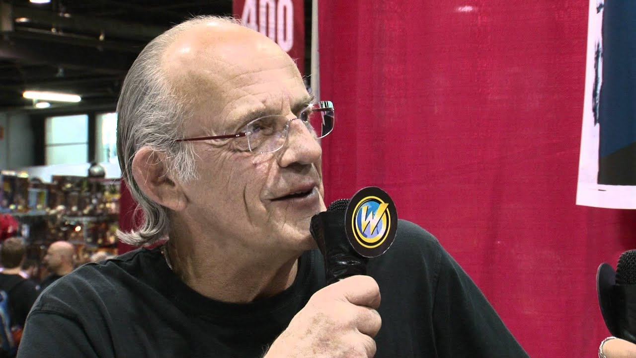 Chicago Comic Con - Christopher Lloyd (Back To The Future, Who ...