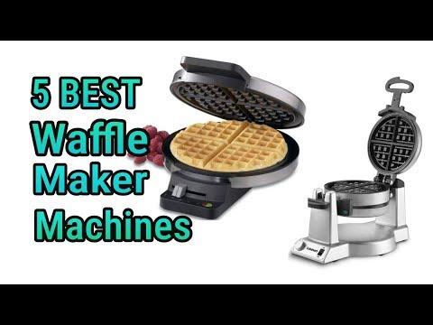 5 Best Waffle Maker Machines