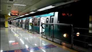 [FHD]光州都市鉄道 1号線 トルゴゲ駅 平洞行 発車
