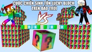MINI GAME : SKY LUCKY BLOCK ELEMENTAL V2 ** CUỘC CHIẾN SINH TỒN LUCKY BLOCK TRÊN ĐẢO TRỜI VỚI PIXEL