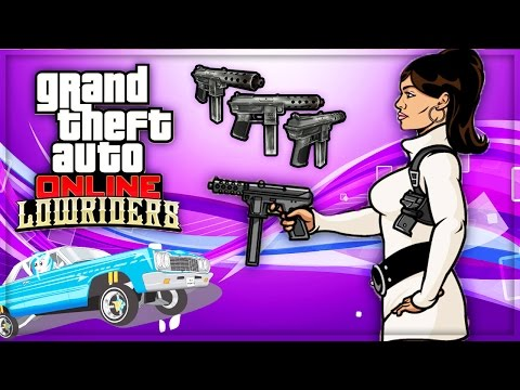GTA 5 Online - Lowriders DLC Gameplay Trailer Breakdown! (GTA 5 New Cars, Guns Update)