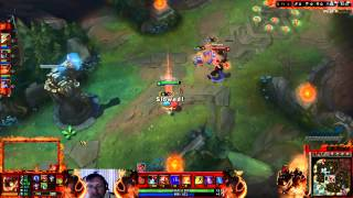League of Legends - Ziggs Game play (Mid Lane) - User video