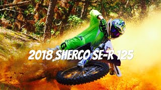 2018 SHERCO 125 ENDURO - IN ACTION (PURE SOUND) HD
