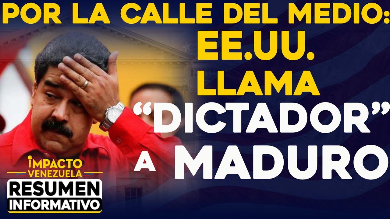 Por la calle del medio: EE.UU. llama DICTADOR a Maduro   🔴  NOTICIAS VENEZUELA HOY febrero 27, 2021
