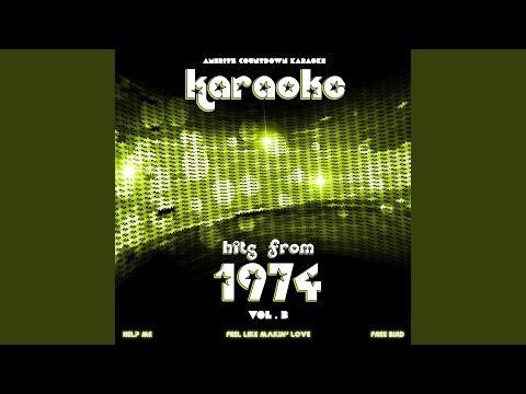 Help Me (In The Style Of Joni Mitchell) (Karaoke Version)