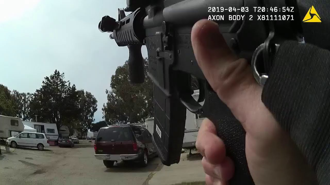 Image result for Body Cam Officer Involved Fatal Shooting Man With AK 47 San Diego