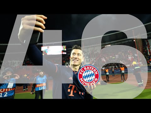 Robert Lewandowski: All Goals For FC Bayern In The Champions League