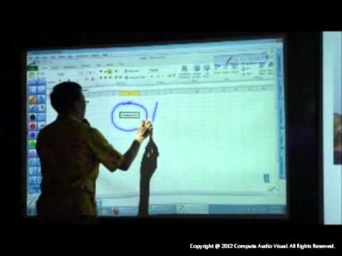 Hitachi Interactive Projector CP-AW2519NM Features Demo