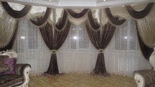 видео Красивые и практичные шторы из ткани софт