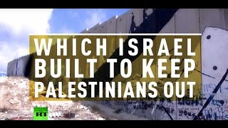 'Art behind the wall': 16yo Palestinian artist in trouble over Israeli barrier painting