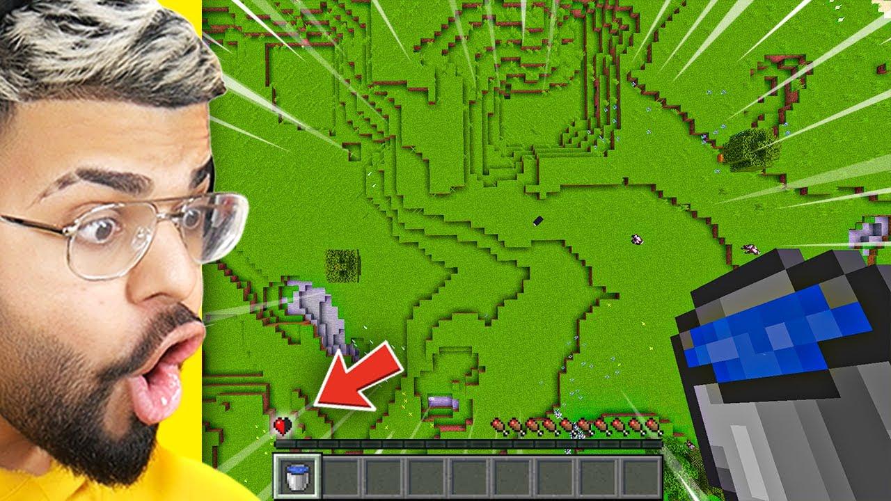 DON'T TAKE DAMAGE.. (Minecraft Challenge)