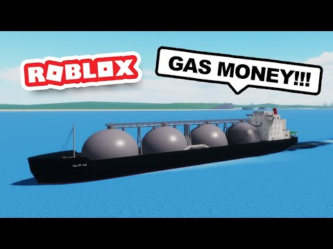 Buying a HUGE GAS SHIP to Make Money in ROBLOX SHIPPING LANES