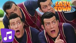 Скачать Lazy Town We Are Number One Music Video Videos For Kids