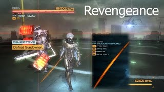 Metal Gear Rising: Revengeance Sundowner Boss [No Damage][Wooden Sword -5][Revengeance Difficulty]