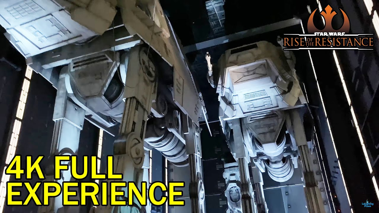 4k Star Wars Rise Of The Resistance Complete Experience