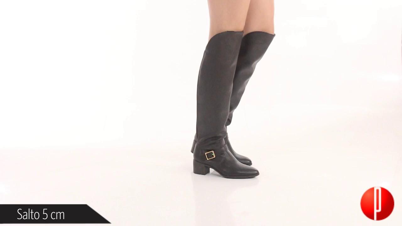 afb1a62fb8 Bota Over The Knee Feminina Bottero - 6010481911 - YouTube