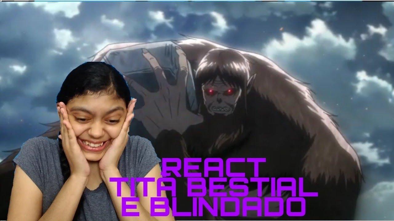 Like Baka Eu Ja Assisti Esse Anime: REACT: 3 Temporada De Shingeki No Kyojin Episódio 50