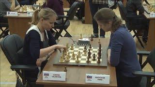 Valentina Gunina vs Anna Muzychuk - Blitz Chess