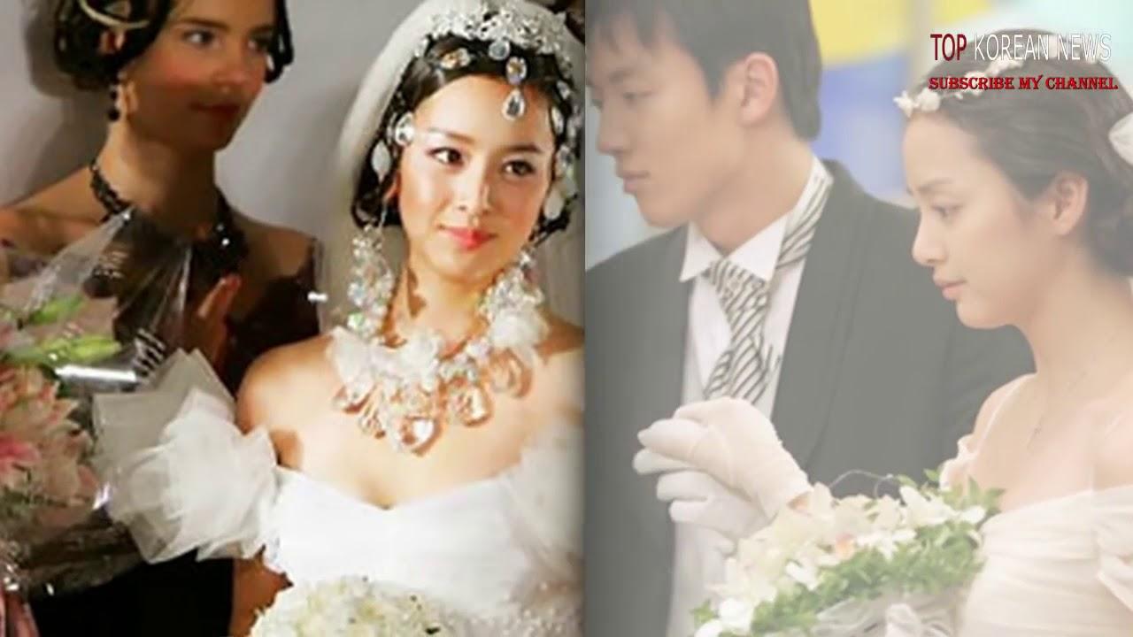 Kim Tae Hee In A Wedding Dress Draws Attention As Wedding Draws Near