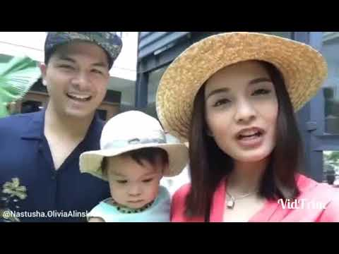 Nastusha Olivia Alinskie kaget #nastusha #chelsea #glenn #cutebaby #baby #bayi #holiday #bali