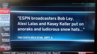 Keith Olbermann stands up for Bob Ley ESPN