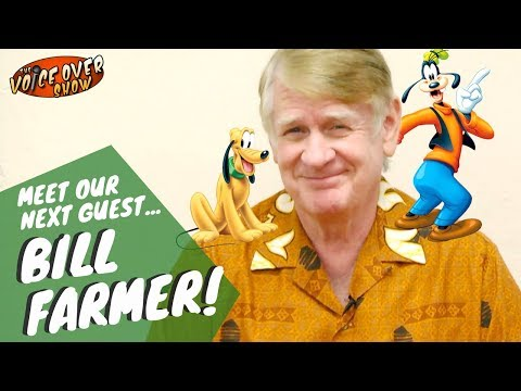 Hyuck! The Voice of Goofy, Bill Farmer is headed for The Voice Over Show!