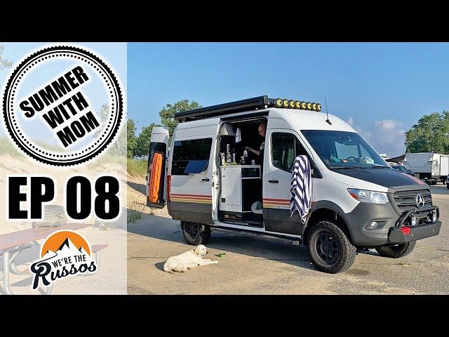 The Joys of Camper Van Life | Summer with Mom Van Life Road Trip Episode 8