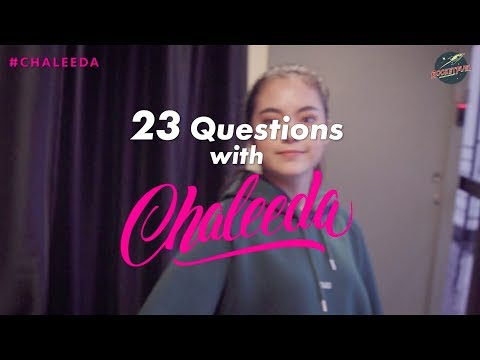 23 Questions with Chaleeda