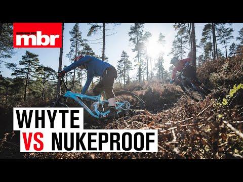Whyte VS Nukeproof  Enduro Bike Head to Head  Mountain Bike Rider
