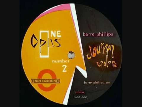 "Barre Phillips ""Journal Violone"" solo bass LP 1968"
