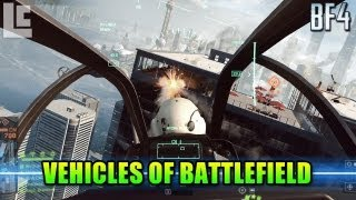 Vehicles Of Battlefield 4 Beta: Attack Helicopter, Attack Boats, Main Battle Tanks & More!