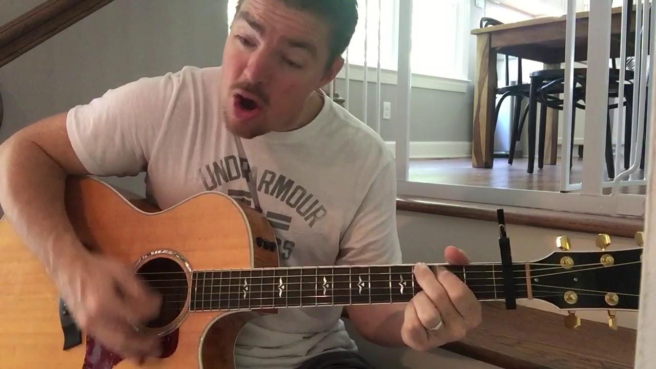 Man Of Sorrows Hillsong United Beginner Guitar Lesson Youtube