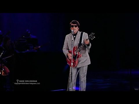 Roy Orbison to go back on tour... in hologram form