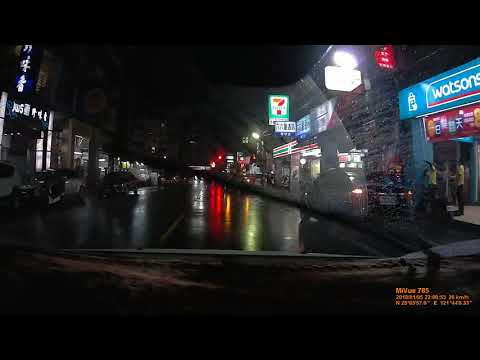 基隆暖暖街併排停車
