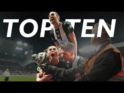 TOP TEN ⚽️ Premier League Goals v Crystal Palace