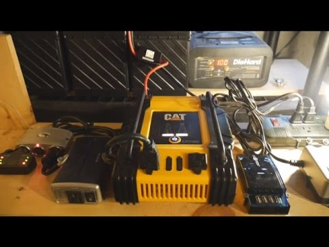 Emergency Home Battery Bank For Preppers
