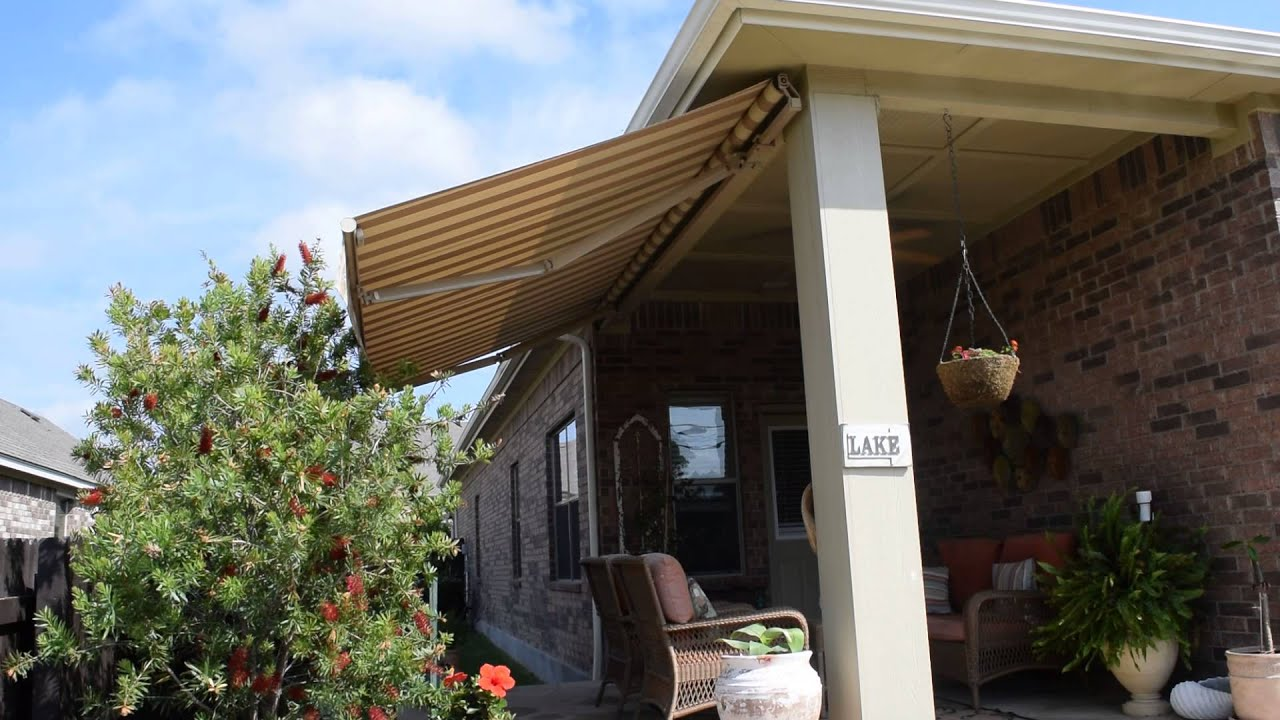 Retractable Awning Austin - YouTube