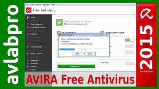 AVIRA 2015 Free Antivirus - Install and Scan