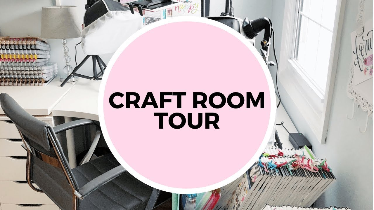 Craft Room Tour Check Out My Planning Space Organization Ideas