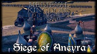 EPIC SIEGE OF ANCYRA! Total War Attila MEDIEVAL MOD Early Access Gameplay!