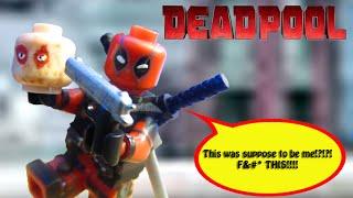 Lego Deadpool Custom Minifigure Showcase